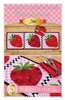 Patchwork Accents Table Runner June Strawberries by Shabby Fabrics