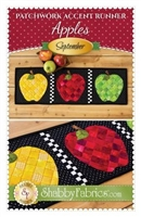 Patchwork Accents Table Runner September Apples by Shabby Fabrics