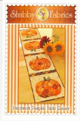 Pumpkin Patch Table Runner Quilt Pattern by Shabby Fabrics