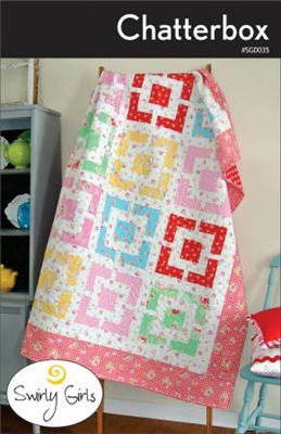 Chatterbox Quilt Pattern by Swirly Girls