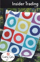 Insider Trading Quilt Pattern by Swirly Girls