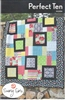 Perfect Ten Quilt Pattern by Swirly Girls