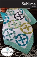 Last one Sublime Quilt Pattern by Swirly Girls