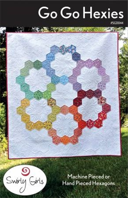 Go, Go Hexies Quilt Pattern by Swirly Girls