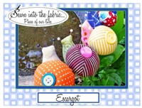 Escargot (Snails) Pin Cushion Pattern