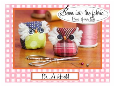 It's a Hoot Pincushion Pattern