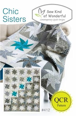 Sew Kind of Wonderful Chic  Sisters Quilt Pattern