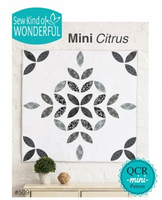 Mini Citrus Quilt Pattern from Sew Kind of Wonderful