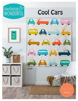 Sew Kind of Wonderful Cool CarsQuilt Pattern Quilt Pattern