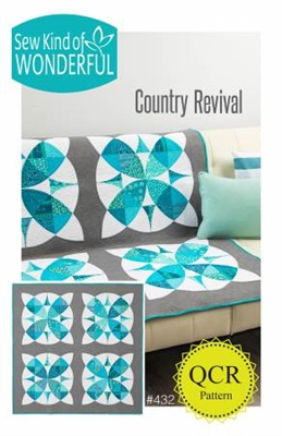 Country Revival Quilt Pattern from Sew Kind of Wonderful