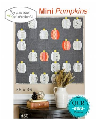 Sew Kind of Wonderful Mini Pumpkins Quilt Pattern