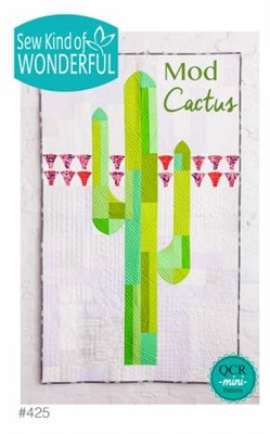 Mod Cactus Quilt Pattern from Sew Kind of Wonderful