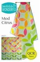 Mod Citrus Quilt Pattern from Sew Kind of Wonderful