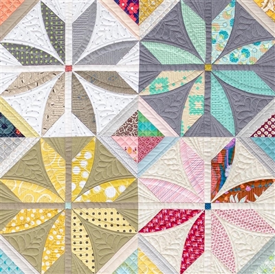 Posh Penelope  Quilt Pattern from SEW KIND OF WONDERFUL