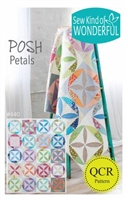 Posh Petals Quilt Pattern from SEW KIND OF WONDERFUL
