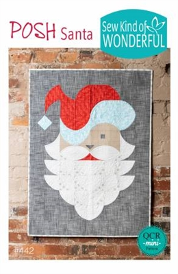Posh Santa Pattern from Sew Kind of Wonderful