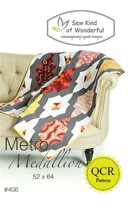 Sew Kind of Wonderful METRO MEDALLION Quilt Pattern