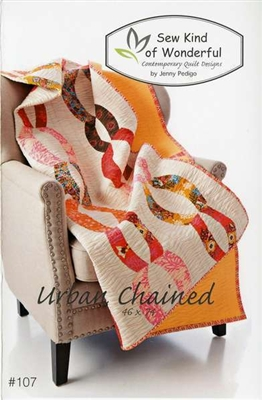 Sew Kind of Wonderful URBAN CHAINED Quilt Pattern