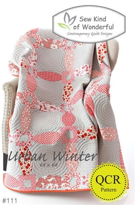 Sew Kind of Wonderful Urban Winter Quilt Pattern