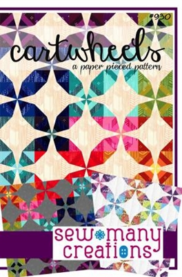 Cartwheels Paper Pieced Quilt Pattern