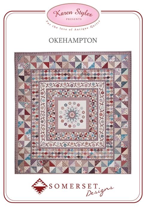 Okehampton Quilt Pattern From Somerset Patchwork Australia