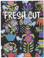 Fresh Cut Folk Art Wool Book by Sue Spargo