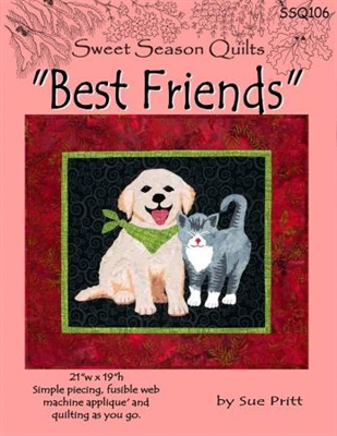 Best Friends Quilt Pattern from Sweet Seasons Quilts
