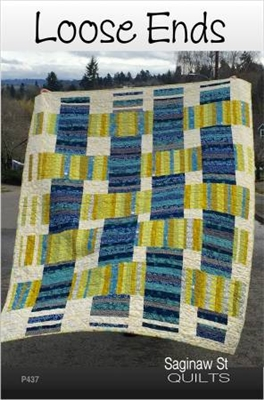Loose Ends Quilt Pattern by From Saginaw St Quilt Co