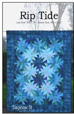 Rip Tide Quilt Pattern