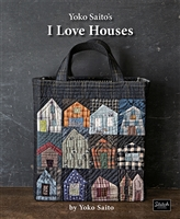 I Love Houses by Yoko Saito - Stitch Publications
