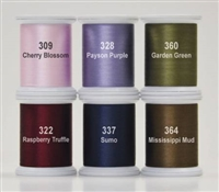 Kimono Silk Thread Set Happy Trails Collection 6 Spools