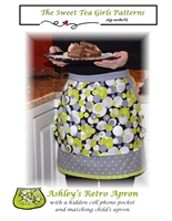 Ashley's Retro Apron by Sweet Tea Girls