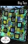Big Ten Quilt Pattern by Swirly Girls