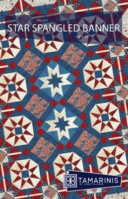 Coming Soon: Star Spangled Banner Quilt Pattern