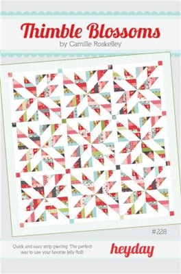 Heyday Quilt Pattern by Thimble Blossoms