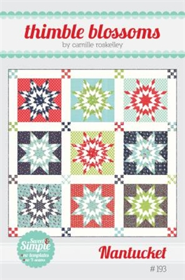 Nantucket Quilt Pattern by Thimble Blossoms