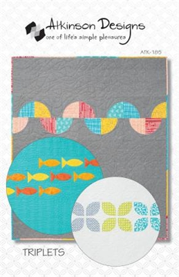 Triplets: A Trio of Baby Quilts Pattern by Terry Atkinson