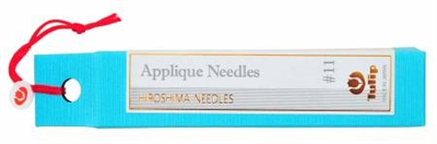Applique Needles No. 11 from Tulip Company (Hiroshima Needles)