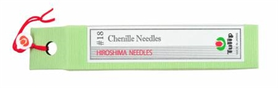 Chenille Needles No. 18 from Tulip Company (Hiroshima Needles)