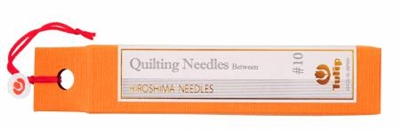 Quilting Needles No. 10 from Tulip Company (Hiroshima Needles)
