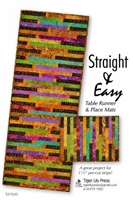 Straight & Easy Quilt Table Runner Pattern