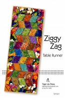 Ziggy Zag Quilt Table Runner Pattern
