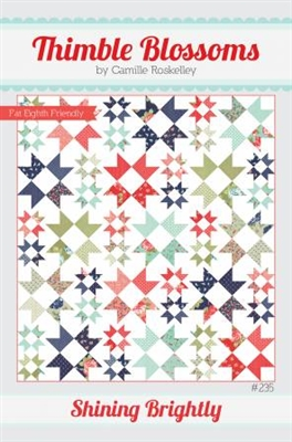 Shining Brightly Quilt Pattern by Thimble Blossoms