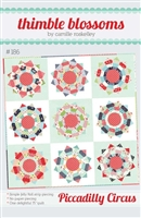 Piccadilly Circus Quilt Pattern by Thimble Blossoms