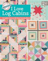 Block-Buster Quilts - I Love Log Cabins 15 Quilts