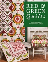 Red & Green Quilt-14 Classic Quilts