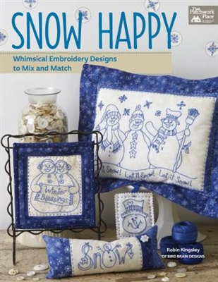Snow Happy Whimsical Embroidery Designs to Mix and Match