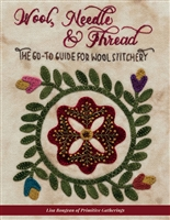Wool, Needle & Thread - The Go-To Guide for Wool Stitchery