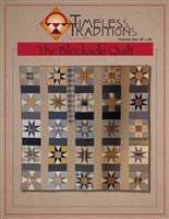 The Blockade Quilt Pattern from Timeless Traditions