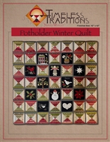 Potholder Winter Quilt Pattern from Timeless Traditions